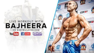 High Volume Chest Training | Jackson 'Bajheera' Bliton, Pro Natural Bodybuilder