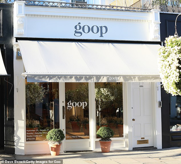 Gwyneth Paltrow's London pop-up will quickly be IRREVERSIBLE