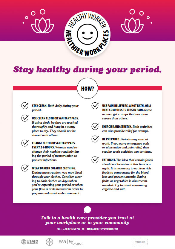 Stay Healthy during your period