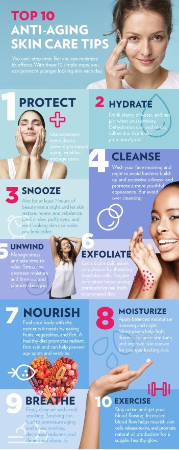 antiaging skin care tips