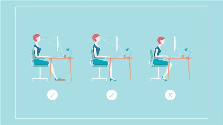 Sit all the time? Try these desk extends to loosen your hips