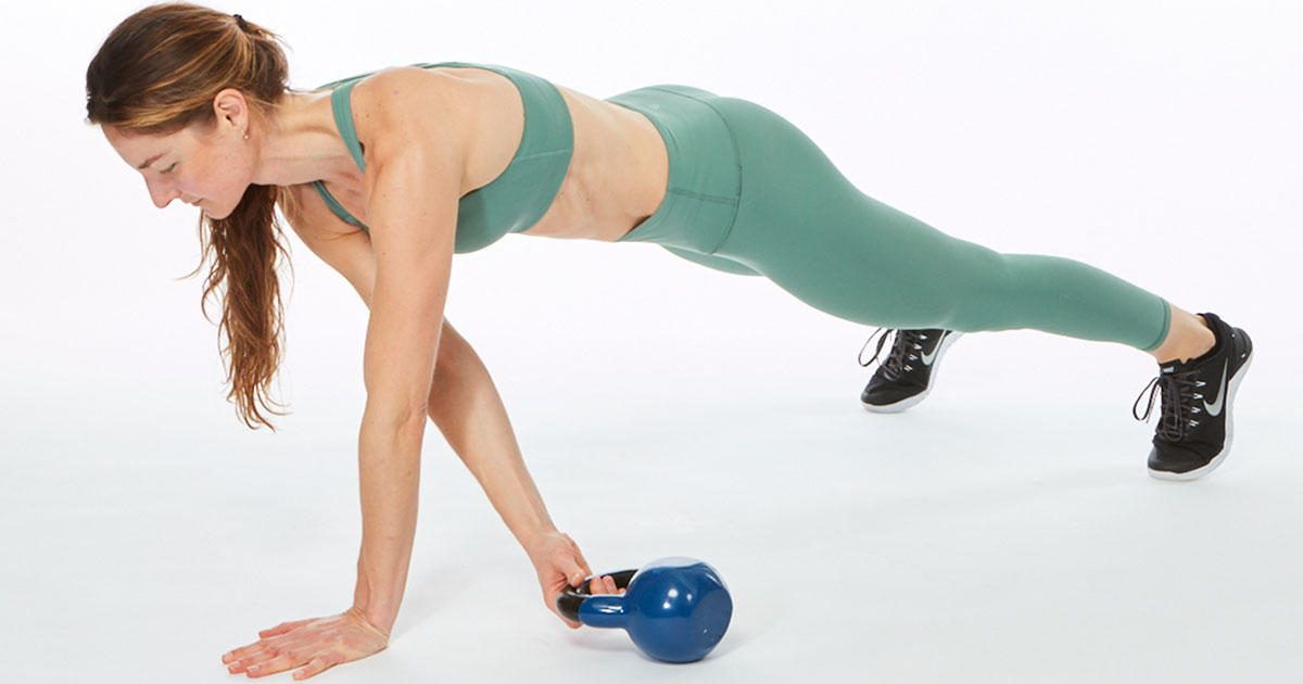 The Only Kettlebell Ab Workout You'll Ever Need