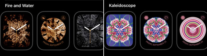Tips and techniques to individualize your Apple Watch display screen