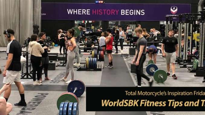 WorldSBK Racer Fitness Tips and Physical Training Program. Stay Fit!