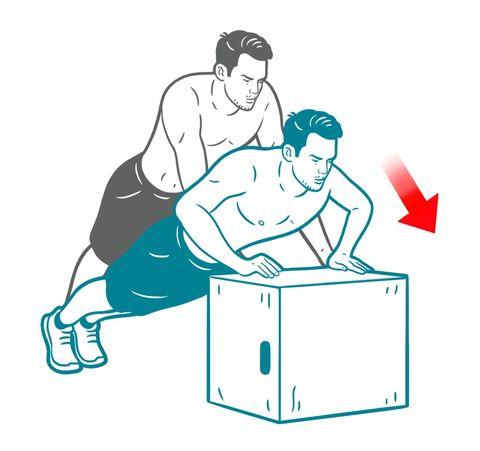 box pushup