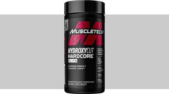 Muscletech Hydroxycut Hardcore Elite Thermogenic Fat Burner