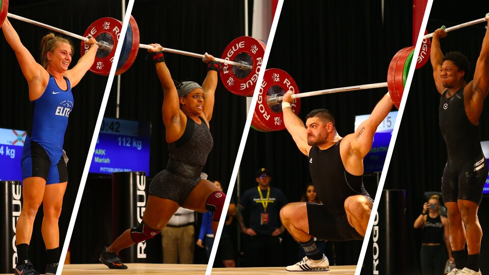 2021 U.S.A. Weightlifting Nationals Highlights
