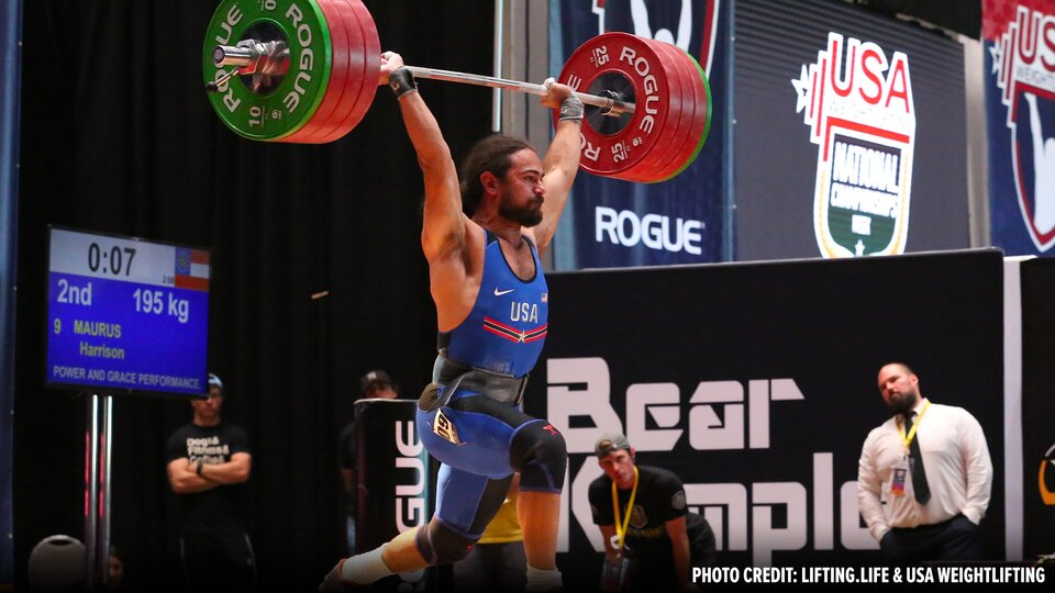 U.S.A. Weightlifting Nationals Results